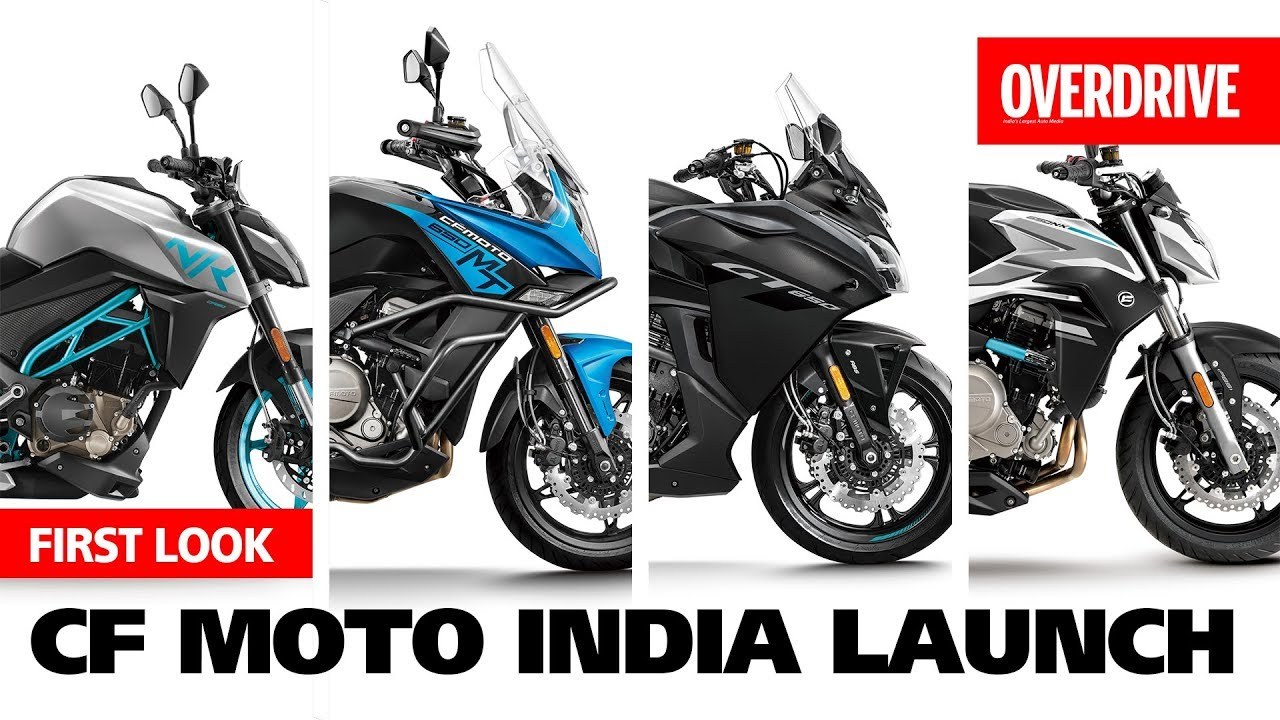 CFMoto will launch 300NK, 650NK & 650MT motorcycles in