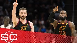 Kevin Love's return is 'a relief and a boost in the arm' for the Cavaliers | SportsCenter | ESPN