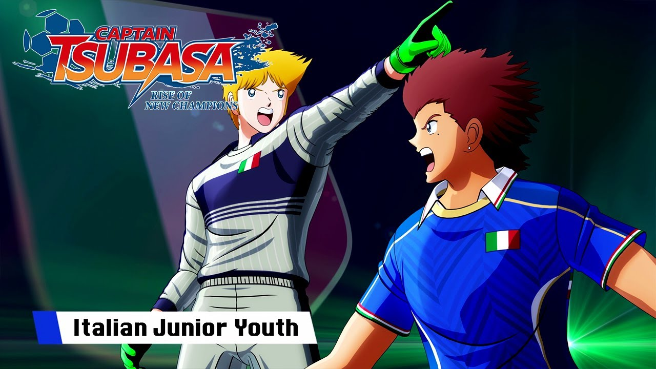 Captain Tsubasa: Rise of New Champions - Italy Junior Youth Trailer - PS4/PC/SWITCH