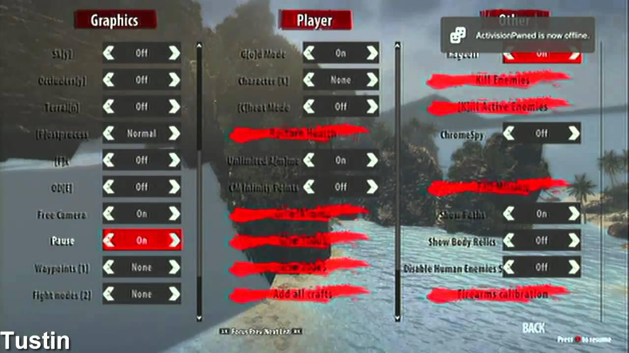 Dead Island Riptide Usb Mod Menu