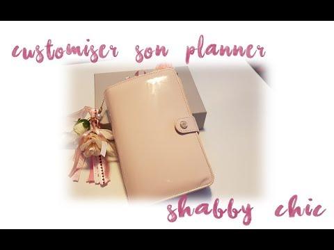 DIY Customiser son planner de A à Z - Shabby chic style