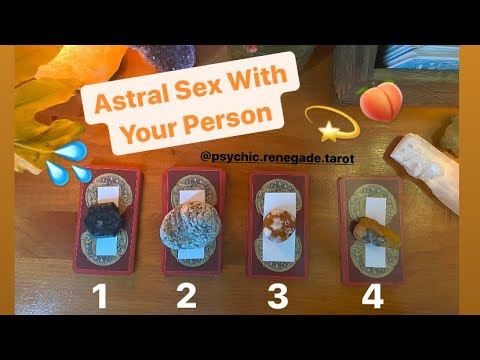 PICK-A-CARD 🚀Astral Sex 👅 With Your Person 💦 from YouTube · Duration:  1 hour 9 minutes 34 seconds
