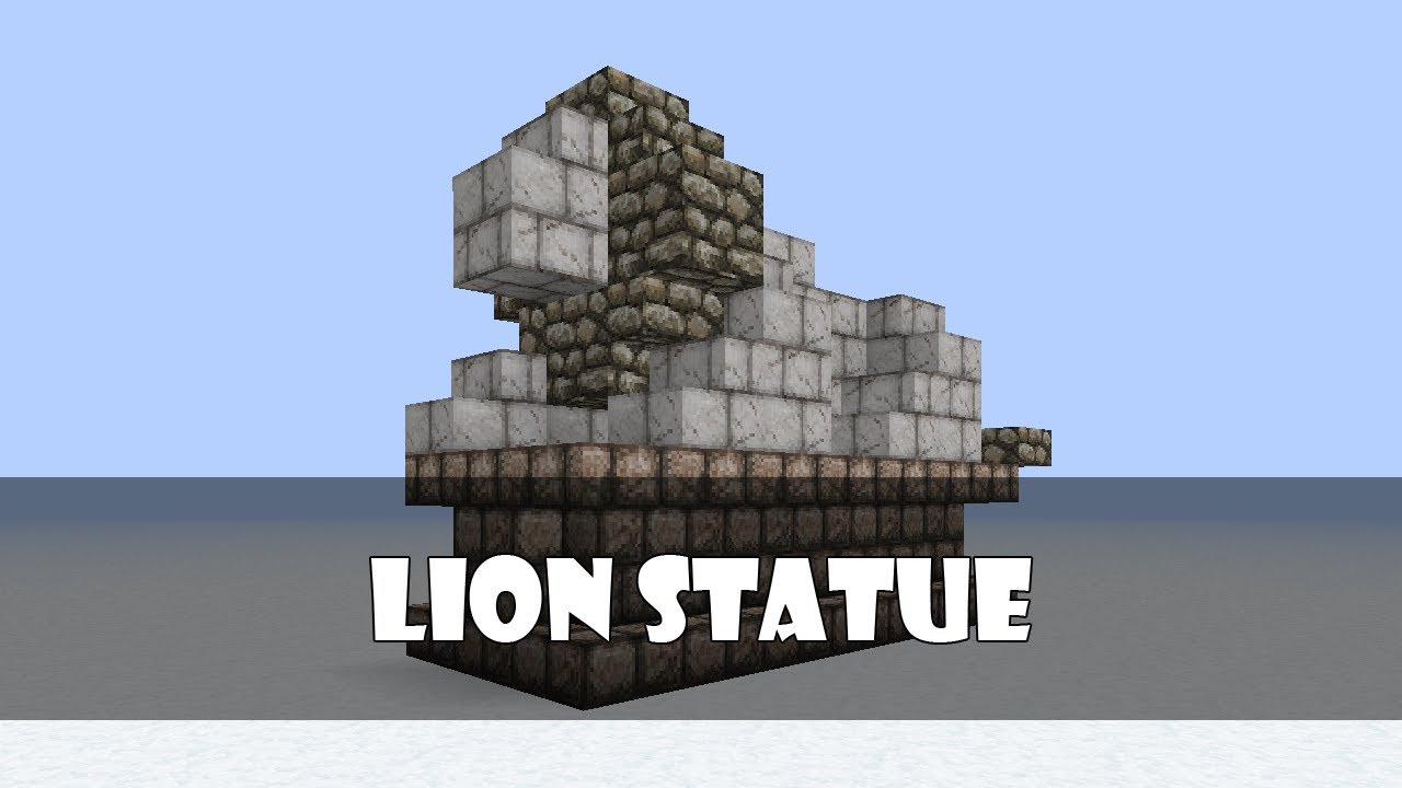 Gallery For gt Minecraft Statues