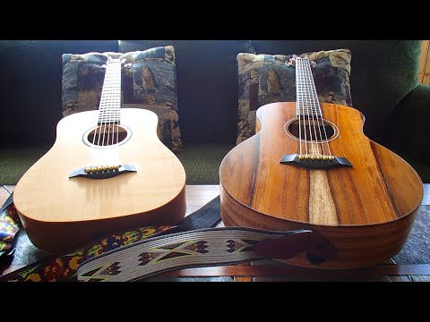 taylor gs mini e koa acoustic guitar review 178 youtube. Black Bedroom Furniture Sets. Home Design Ideas