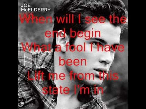 Joe McElderry - Someone Wake me Up (Lyrics on screen)
