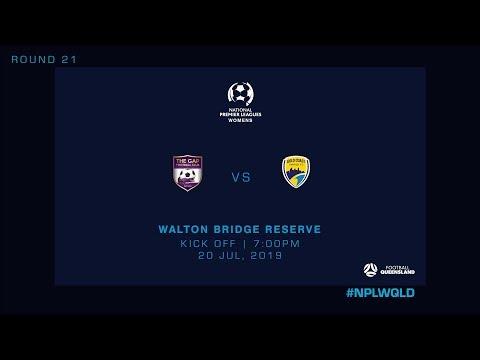 NPLW R21 - Gap FC vs. Gold Coast United
