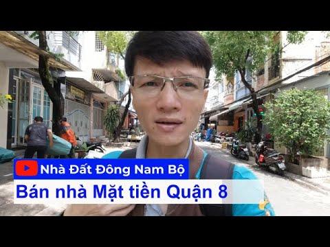 Video nhà bán Mặt tiền đường Bùi Điền Quận 8, gần chợ Phạm Thế Hiển p4 q8