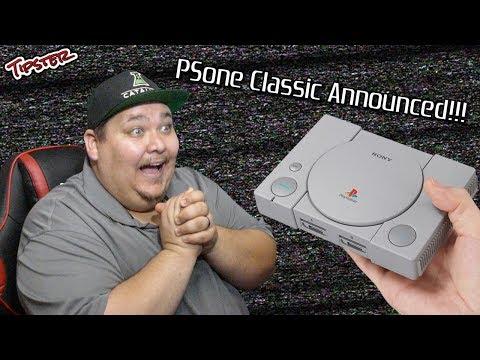 Sony Announces the PSone Classic Edition!!!