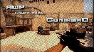 cs go awp graphite gameplay by curingao
