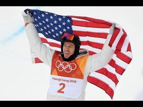 Shaun White 2018 Olympic Gold Medal Run  - South Korea