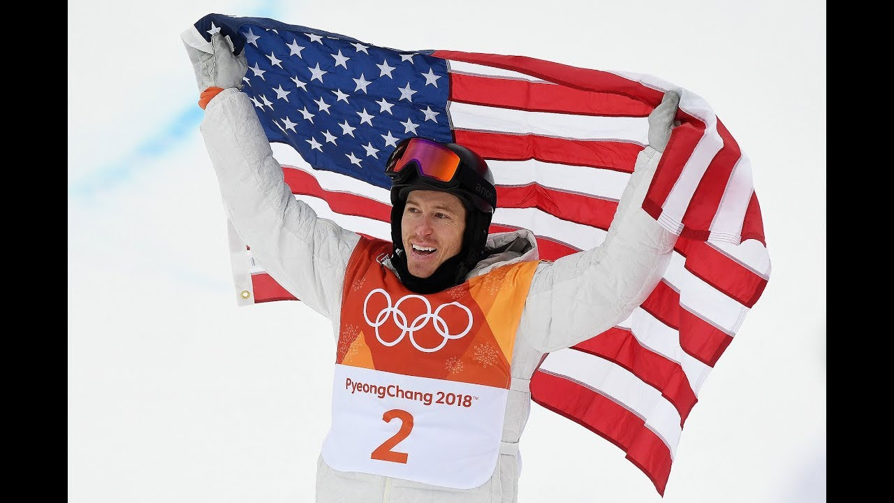 Watch Shaun White wins gold medal in mens halfpipe in dramatic finish video