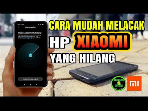 Cara mudah menemukan HP Xiaomi yang hilang. Anti sipasi HP kalian semua dengan alrm, dan penguncian .