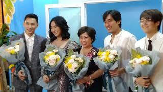 Diệu Nhi, Isaac, Kiều Minh Tuấn làm rộn tại event ra mắt phim Anh trai yêu quái