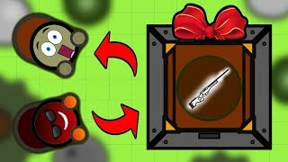 Surviv.io Fan GIFTS Me The MOST POWERFUL WEAPON In The Game!! (Livestream Highlights & Best Moments)