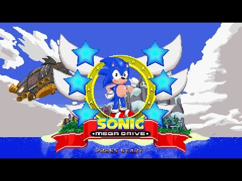 Sonic Mega Drive (SAGE 2014 Demo) - Walkthrough