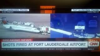 Breaking Shooting at Ft Lauderdale airport!!