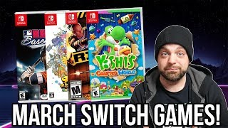 Best New Nintendo Switch Games For March 2019! | Rgt 85