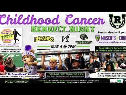Roughriders Host Cancer Benefit on Saturday 5/4 @ The WesBanco Arena in Wheeling, WV
