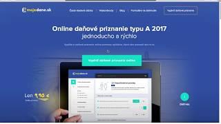Daňové priznanie online - ako na daňové priznanie na mojedane.sk
