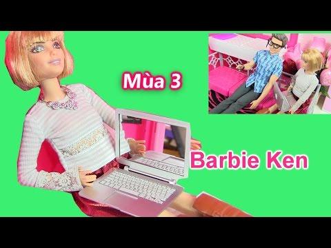 Cuộc Sống Barbie & Ken (Mùa 3) Tập 3 - Kỷ Niệm Ngày Cưới Của Barbie/Barbie Được Tặng Laptop Apple