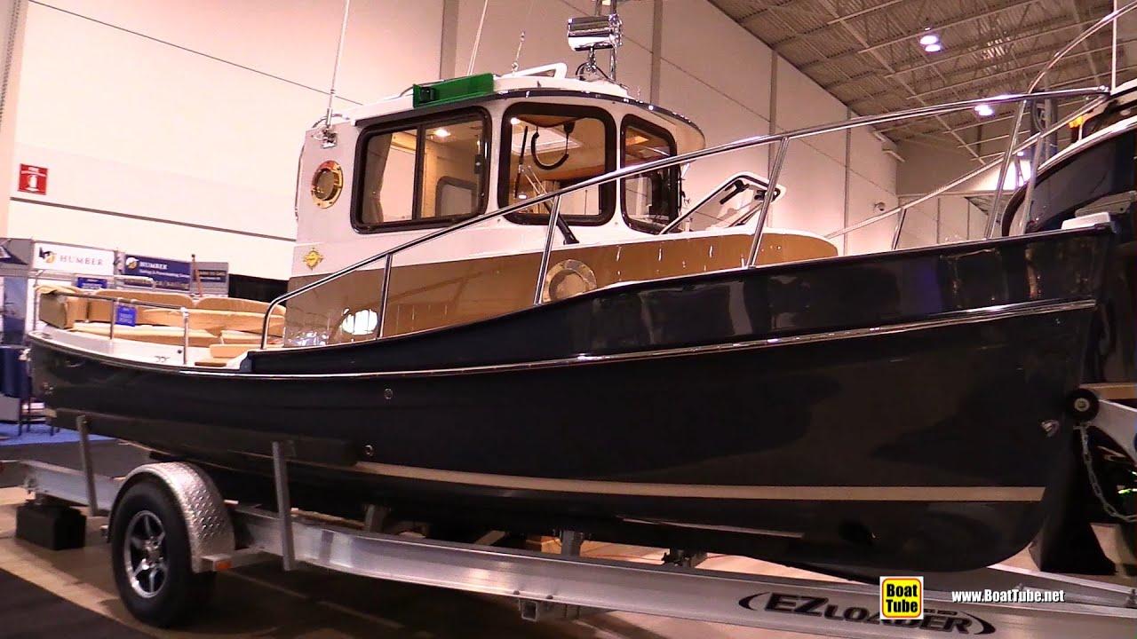 2015 Ranger Tugs R21EC Motor Boat - Deck, Hull and Interior Walkaround -  2015 Toronto Boat Show