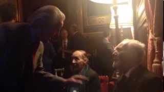 Tony Benn House of Commons Book Launch Speaking with Dennis Skinner