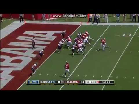 College Football:Alabama Crimson Tide Vs The Florida Atlantic Owls