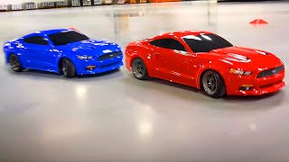 Muscle Car Mashup | Ford Mustang GT in Red and Blue