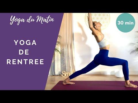Yoga de rentrée - pratique pour les matins pressés ! Avec Stéphanie de Yogaline