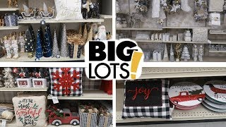 BIG LOTS!! CHRISTMAS DECOR 2019