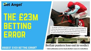 Betfair trading - How to win (and lose) £45m in a few minutes