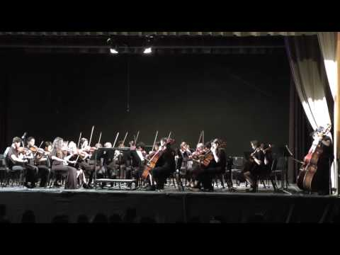 Paul Revere Charter Middle School Chamber Orchestra Spring 2016