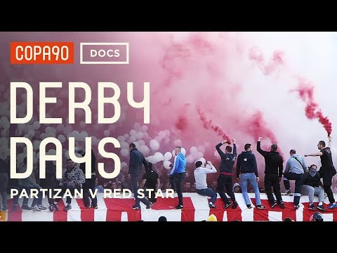 The Most Intense Atmosphere In Football - Partizan V Red Star | Derby Days