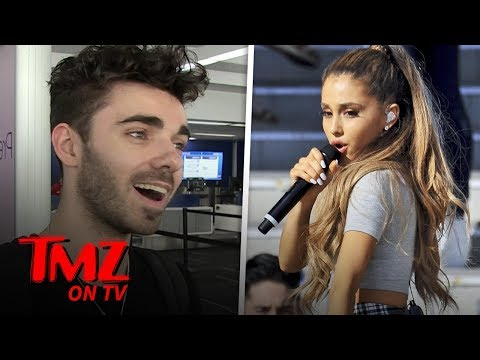 Nathan Sykes of The Wanted Left Off Ariana Grande's 'thank u, next' | TMZ TV