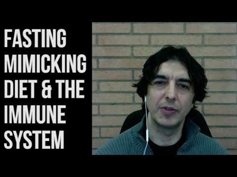 Valter Longo - Fasting Mimicking Diet & Your Immune System