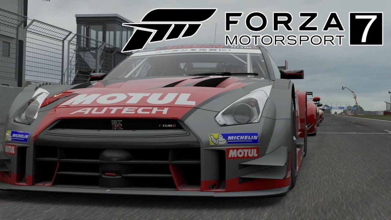 forza 7 demo nissan gt r nismo youtube. Black Bedroom Furniture Sets. Home Design Ideas