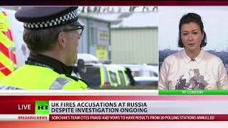 RT's Anastasia Churkina has more as UK fires accusations at Russia ...