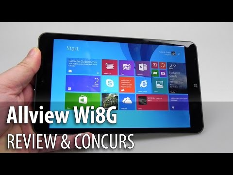 Allview Wi8G Review & Concurs (Tabletă 8 inch Windows 8.1 3G) - Mobilissimo.ro
