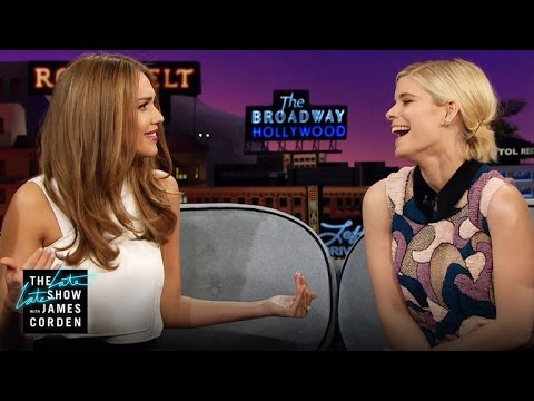 Two Invisible Women, One Host (w/ Kate Mara & Jessica Alba)