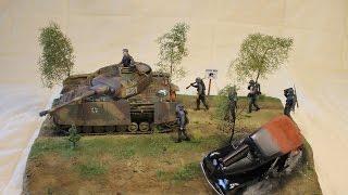 tamiya s panzer iv ausf h 1 35 tamiya german machine gun crew diorama