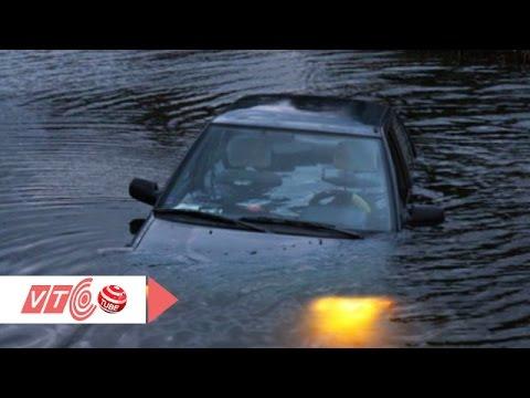 Kỹ năng thoát hiểm khi ô tô lao xuống sông   VTC