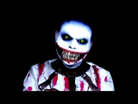 Jeff the Killer Asylum Edition Inspired - Creepy Pasta - Makeup Tutorial!