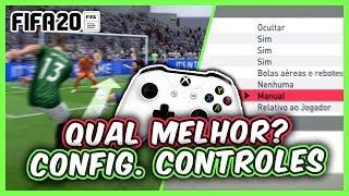 FIFA 20 | CONFIGURAÇÕES DE CONTROLE E ASSISTÊNCIAS - QUAIS ESCOLHER ?