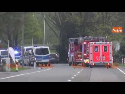 Dortmund, il bus del Borussia colpito dall'ordigno