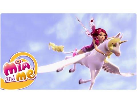 Mia and me saison 1 pisode 13 la licorne de feu clip2 youtube - Mia et moi licorne ...