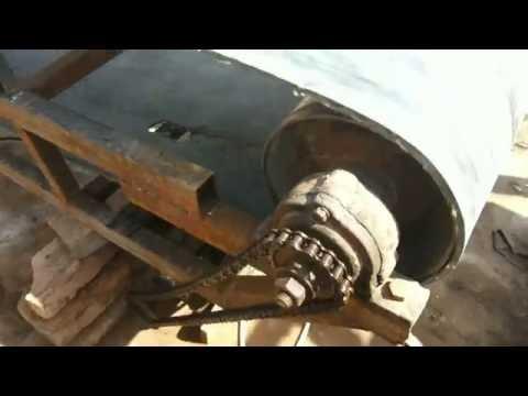 Самодельный ленточный конвейер (конструкция и испытание)