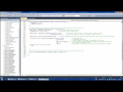 OpenCV tutorial 5: Emgu CV with C#