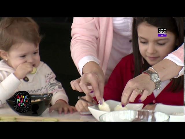 Chips-uri de dovlecei la cuptor - Video Jurnal pentru copii Digi24