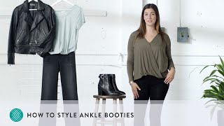 How to Style Ankle Booties