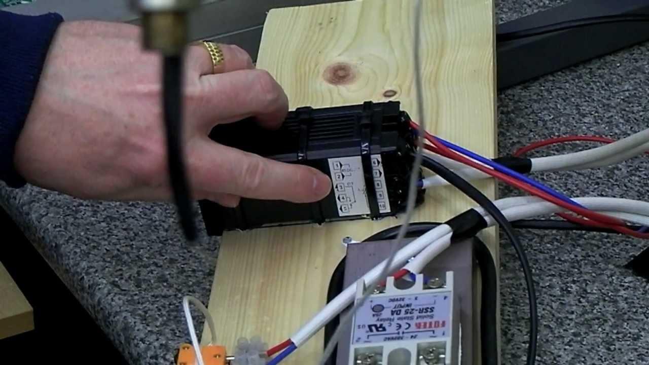 rexc100 wiring response video